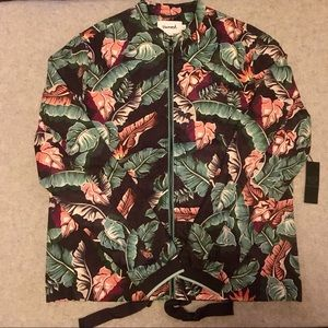 NEW Diamond Supply Co. - Tropical Paradise Jacket